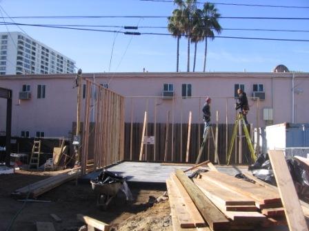 Garage 2642 Second Street Under Construction